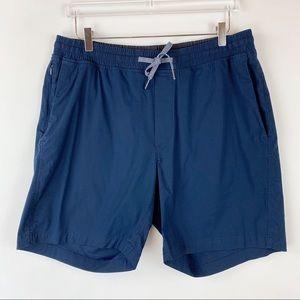 Lululemon Bowline Elastic Waist True Navy Shorts